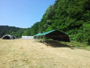 Le camp des cow-boys est déserté
